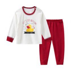 四季小黄鸭红套装