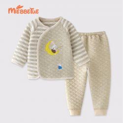 婴儿套装 唛加厚月亮兔套装