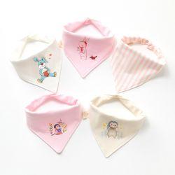 三角巾粉红萌宝心
