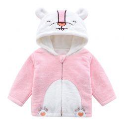 婴儿外套  加厚绒衣